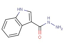 1H-indole-3-carbohydrazide