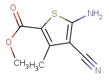 methyl 5-amino-4-cyano-3-methylthiophene-2-carboxylate