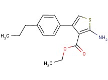 ethyl 2-amino-4-(4-propylphenyl)thiophene-3-carboxylate