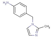 4-[(2-methyl-1H-imidazol-1-yl)methyl]aniline