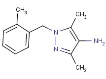 3,5-dimethyl-1-(2-methylbenzyl)-1H-pyrazol-4-amine