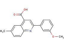 2-(3-methoxyphenyl)-6-methylquinoline-4-carboxylic acid