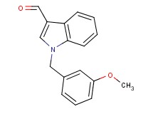 1-(3-methoxybenzyl)-1H-indole-3-carbaldehyde
