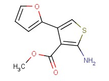 methyl 2-amino-4-(2-furyl)thiophene-3-carboxylate