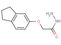 2-(2,3-dihydro-1H-inden-5-yloxy)acetohydrazide