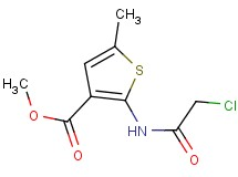 methyl 2-[(chloroacetyl)amino]-5-methylthiophene-3-carboxylate
