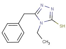 5-benzyl-4-ethyl-4H-1,2,4-triazole-3-thiol