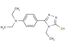 5-[4-(diethylamino)phenyl]-4-ethyl-4H-1,2,4-triazole-3-thiol