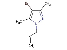 1-allyl-4-bromo-3,5-dimethyl-1H-pyrazole