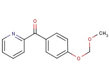 [4-(methoxymethoxy)phenyl](pyridin-2-yl)methanone