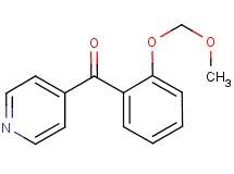 [2-(methoxymethoxy)phenyl](pyridin-4-yl)methanone