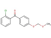 (2-chlorophenyl)[4-(methoxymethoxy)phenyl]methanone