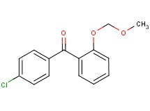 (4-chlorophenyl)[2-(methoxymethoxy)phenyl]methanone