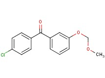 (4-chlorophenyl)[3-(methoxymethoxy)phenyl]methanone