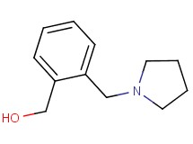 [2-(pyrrolidin-1-ylmethyl)phenyl]methanol