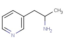(1-methyl-2-pyridin-3-ylethyl)amine