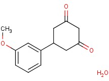 5-(3-methoxyphenyl)-1,3-cyclohexanedione hydrate