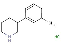 3-(3-methylphenyl)piperidine hydrochloride