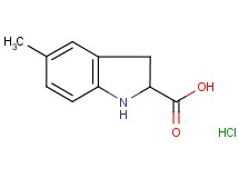 5-methyl-2-indolinecarboxylic acid hydrochloride