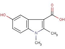 5-hydroxy-1,2-dimethyl-1H-indole-3-carboxylic acid