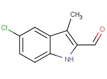 5-chloro-3-methyl-1H-indole-2-carbaldehyde