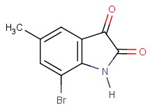7-bromo-5-methyl-1H-indole-2,3-dione