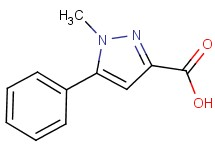 1-methyl-5-phenyl-1H-pyrazole-3-carboxylic acid