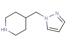 4-(1H-pyrazol-1-ylmethyl)piperidine