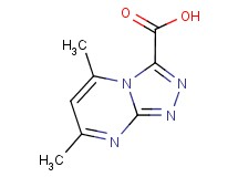5,7-dimethyl[1,2,4]triazolo[4,3-a]pyrimidine-3-carboxylic acid
