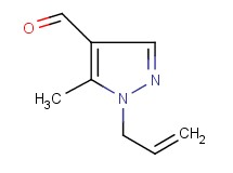 1-allyl-5-methyl-1H-pyrazole-4-carbaldehyde