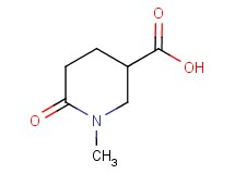 1-methyl-6-oxopiperidine-3-carboxylic acid