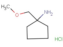 [1-(methoxymethyl)cyclopentyl]amine hydrochloride