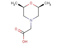 [cis-2,6-dimethylmorpholin-4-yl]acetic acid