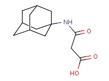 3-(1-adamantylamino)-3-oxopropanoic acid