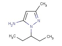 1-(1-ethylpropyl)-3-methyl-1H-pyrazol-5-amine