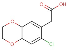 (7-chloro-2,3-dihydro-1,4-benzodioxin-6-yl)acetic acid