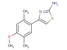 4-(4-methoxy-2,5-dimethylphenyl)-1,3-thiazol-2-amine