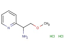 [2-methoxy-1-(2-pyridinyl)ethyl]amine dihydrochloride