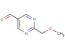 2-(methoxymethyl)-5-pyrimidinecarbaldehyde