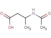 3-(acetylamino)butanoic acid