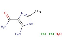 5-amino-2-methyl-1H-imidazole-4-carboxamide dihydrochloride hydrate