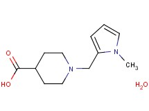 1-[(1-methyl-1H-pyrrol-2-yl)methyl]-4-piperidinecarboxylic acid hydrate