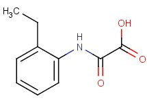 [(2-ethylphenyl)amino](oxo)acetic acid