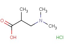 3-(dimethylamino)-2-methylpropanoic acid hydrochloride