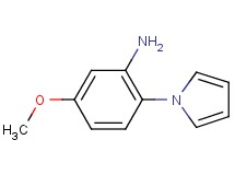5-methoxy-2-(1H-pyrrol-1-yl)aniline