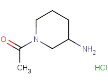 1-acetyl-3-piperidinamine hydrochloride