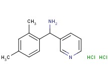 [(2,4-dimethylphenyl)(3-pyridinyl)methyl]amine dihydrochloride