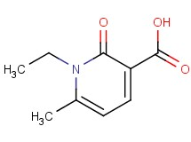 1-ethyl-6-methyl-2-oxo-1,2-dihydro-3-pyridinecarboxylic acid