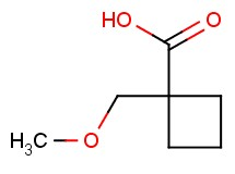 1-(methoxymethyl)cyclobutanecarboxylic acid
