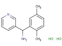 [(2,5-dimethylphenyl)(3-pyridinyl)methyl]amine dihydrochloride
